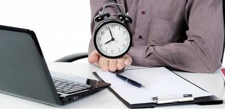 Пример расчета времени на бухгалтера материальной группы